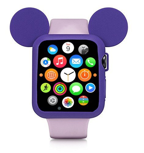 Silikonový obal Cartoon Mickey Apple Watch Series 3/2/1 (42mm)