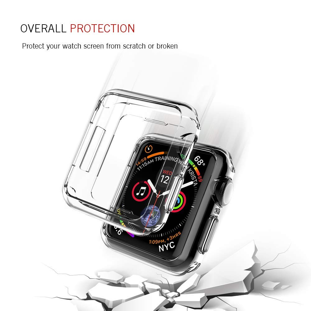 Tenký kryt Slim Case na Apple Watch Series 4 (44mm)