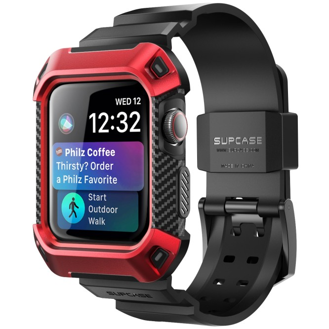 Odolný kryt s řemínkem SUPCASE Unicorn Beetle Pro na Apple Watch Series 4 (40mm)