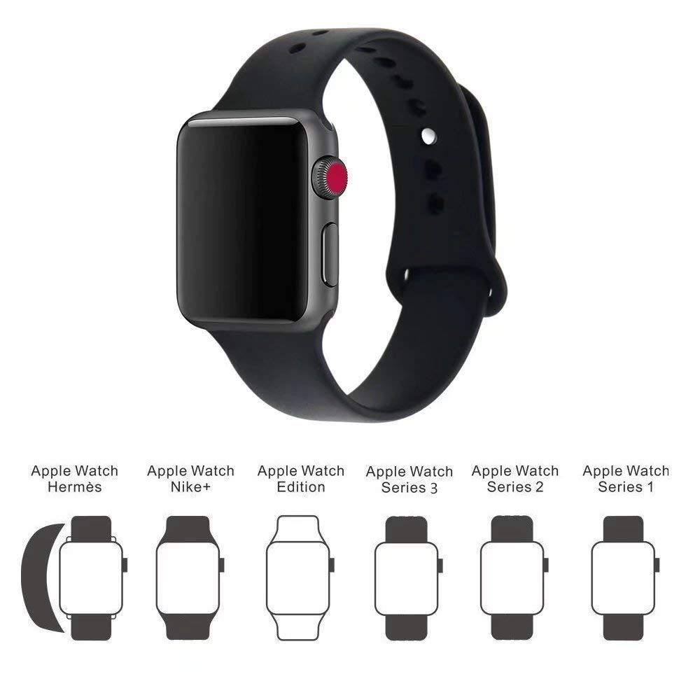 ... Silikonový řemínek SmoothBand pro Apple Watch Series 3 2 1 (42mm) ... dc45fe23e27