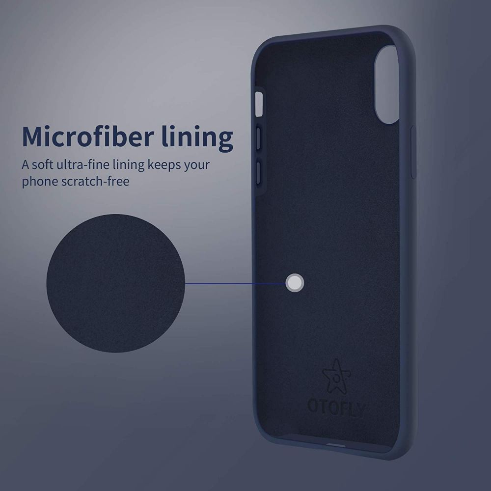 Silikonový kryt iMore Silicone Case na iPhone XS MAX