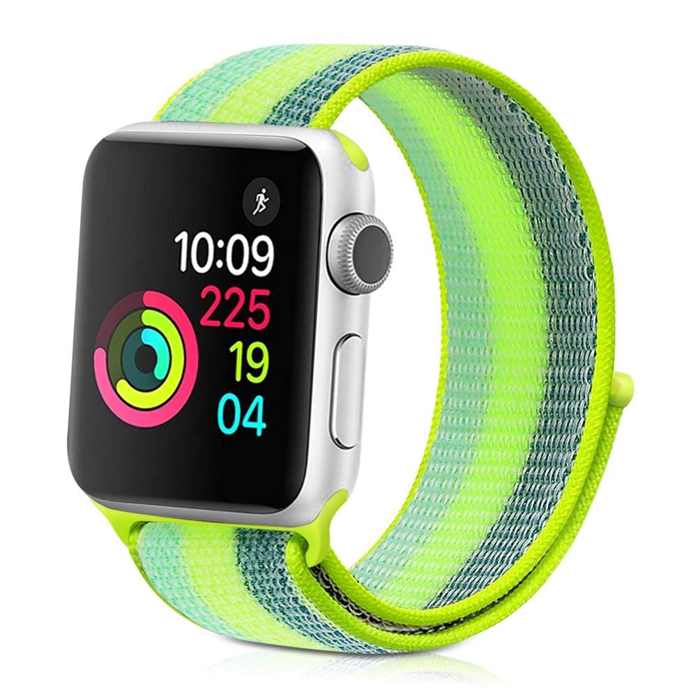 Nylonový řemínek NYLON STRIPES pro Apple Watch Series 3/2/1 (38mm)