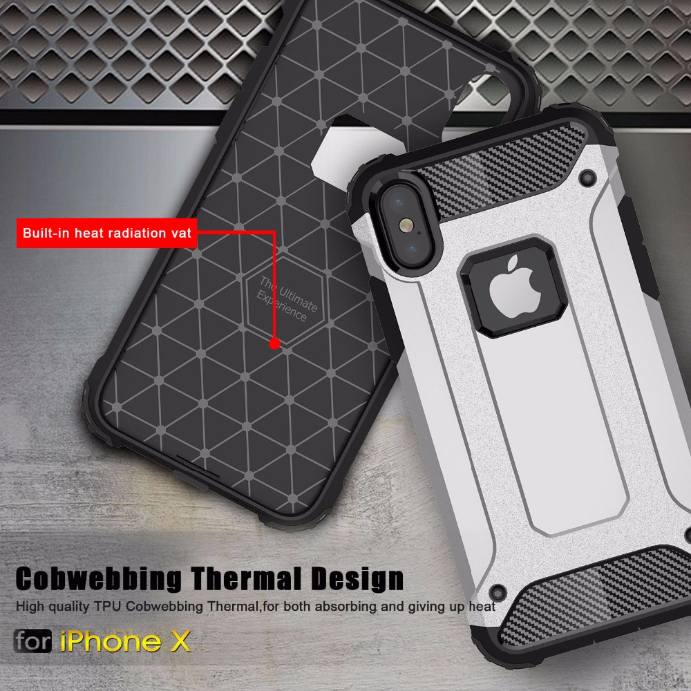 Odolný kryt Forcell Armor Case pro Apple iPhone XS/X