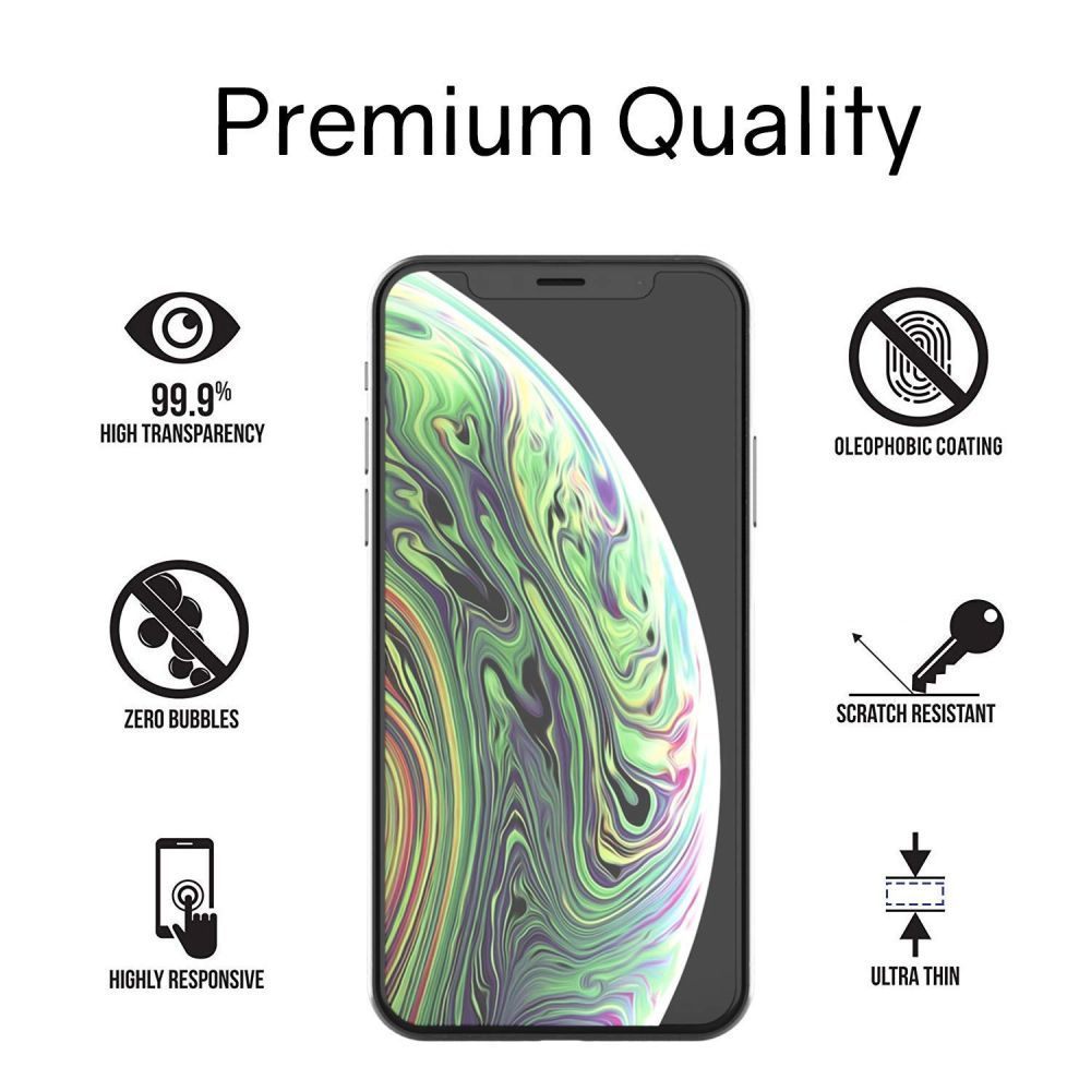3D sklo WhiteStone DOME GLASS UV na Apple iPhone XS Max