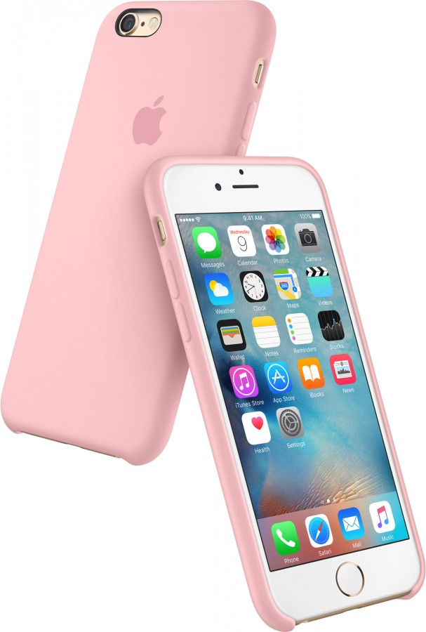 ... Silikonový kryt Apple Silicone Case iPhone 6s 6 Růžový (Pink) ... 3bfebb88a3a