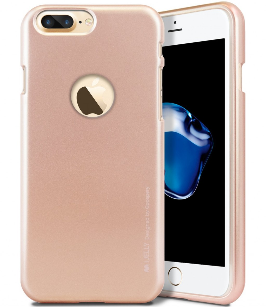 Silikonový obal / kryt Jelly Case Goospery Mercury Apple iPhone 8 Plus / 7 Plus