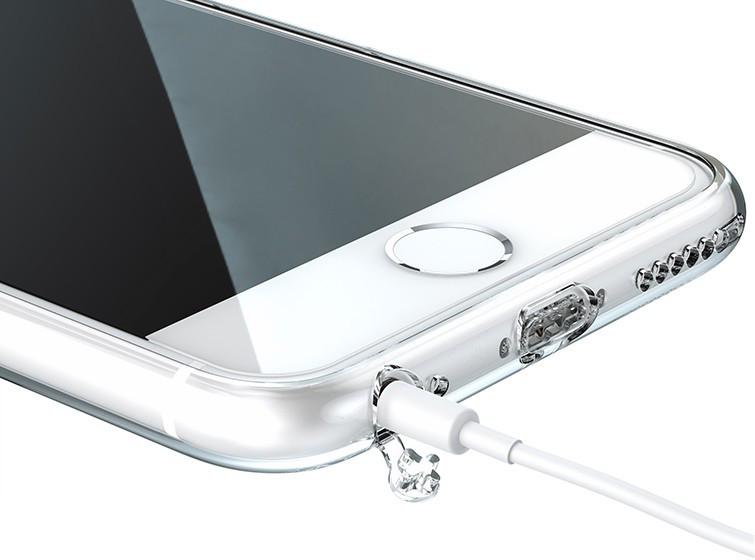 ... Průhledný čirý obal   kryt Ultra Slim Hybrid na iPhone 8 7 ... 427021d14cf