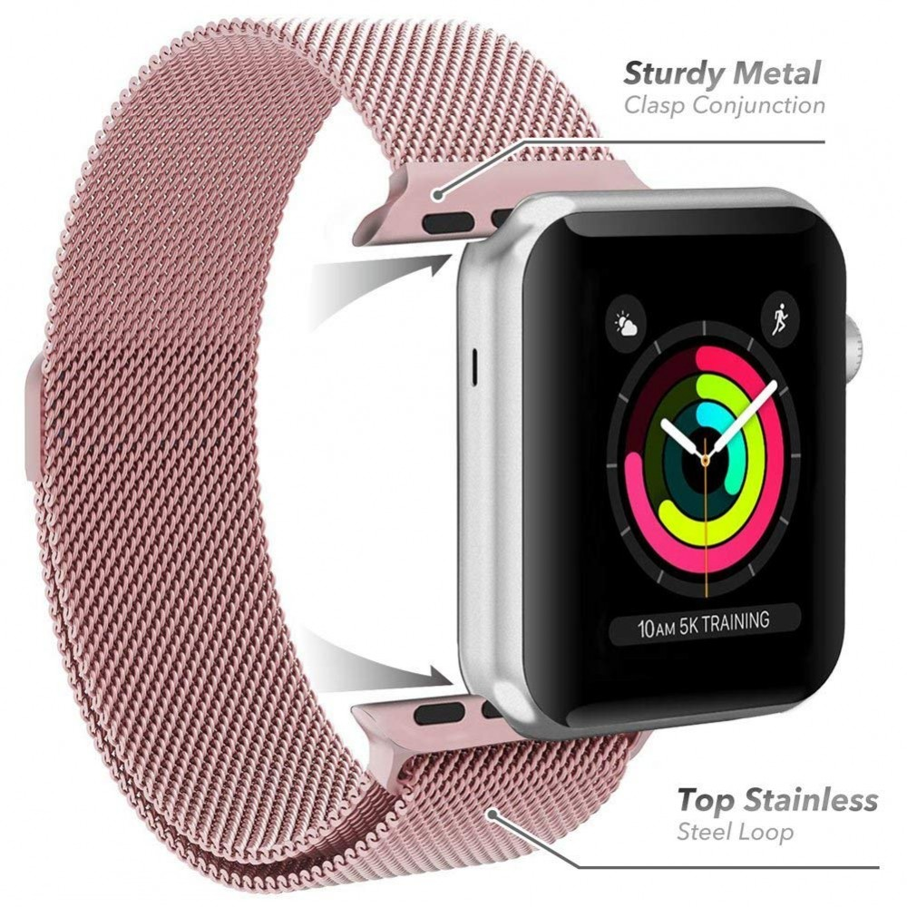 Řemínek MILANESE LOOP pro Apple Watch Series 3/2/1 (42mm)
