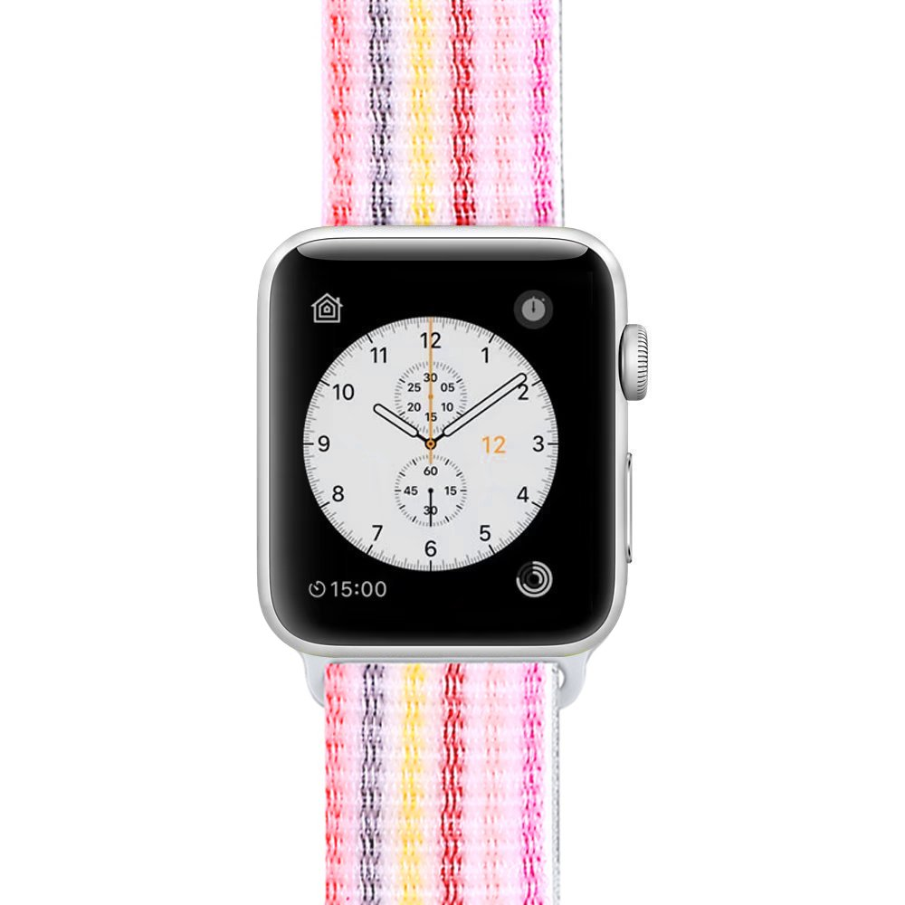 Nylonový řemínek NYLON STRIPES pro Apple Watch Series 5/4 (44mm)