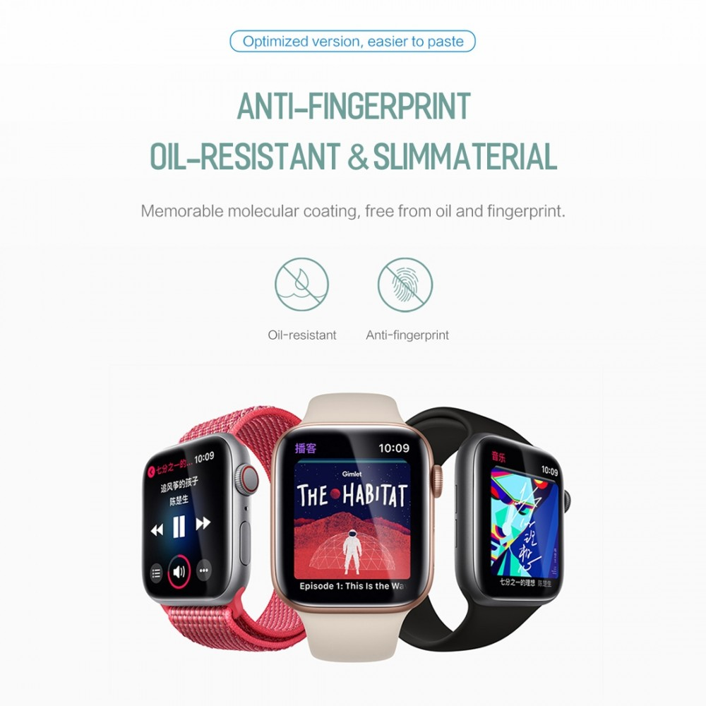 Ochranná fólie ROCK Hydrogel na Apple Watch Series 3/2/1 (42mm), 2 packs