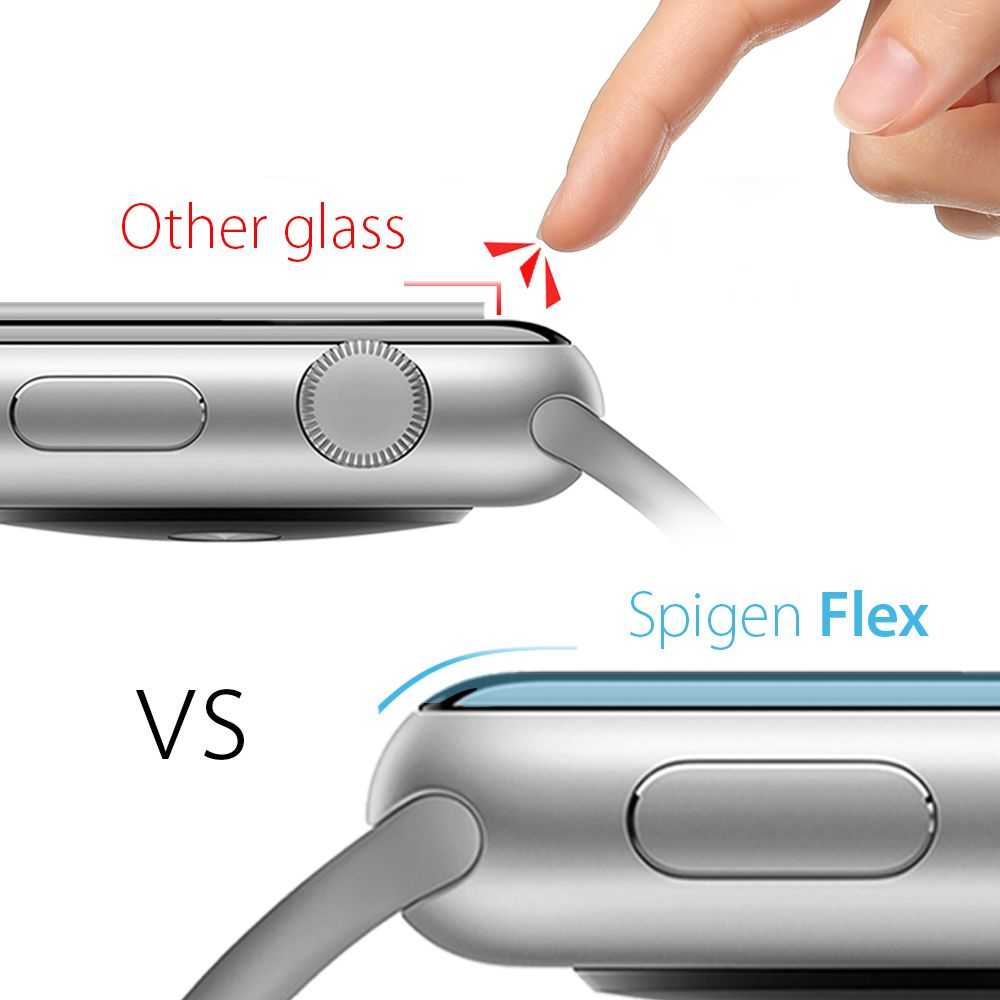 Ochranná fólie Spigen Neo Flex na Apple Watch Series 5/4 (44mm), x3 Pack