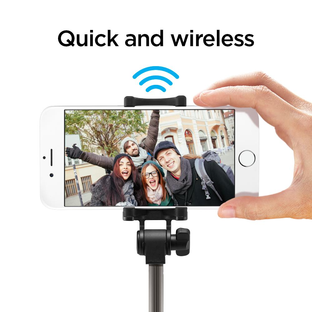 Bluetooth selfie tyč Spigen S530W Wireless Selfie Stick