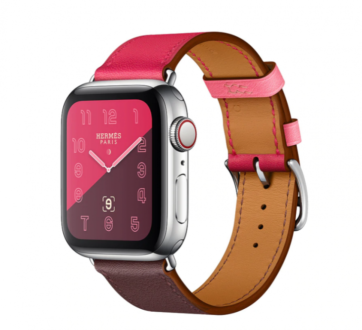 Kožený řemínek Single Tour pro Apple Watch Series 5/4 (44mm)
