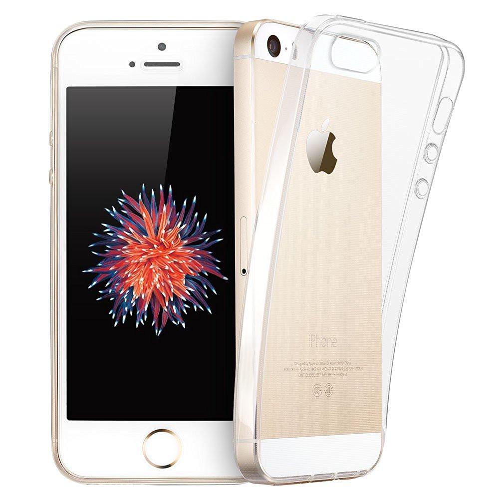 ... Průhledný čirý obal   kryt Ultra Slim Hybrid pro iPhone SE   5s   5 ... 0e17bccb546