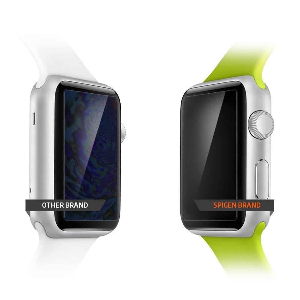 Fólie Spigen SPG Crystal na displej Apple Watch Series 3/2/1 (42mm)