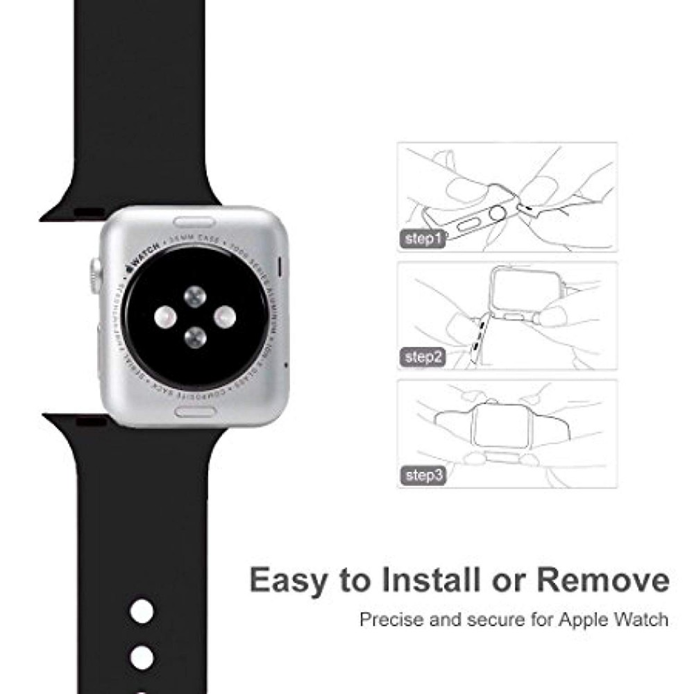 Silikonový řemínek SmoothBand pro Apple Watch Series 3/2/1 (42mm)