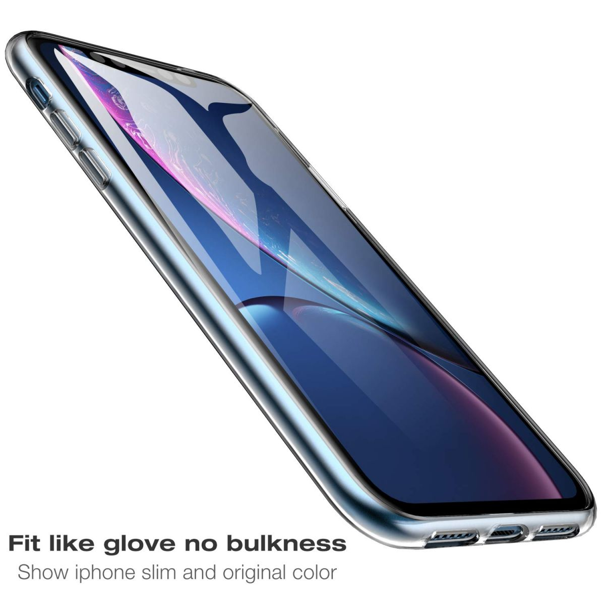 Pouzdro XO TPU Case 1mm na iPhone XR