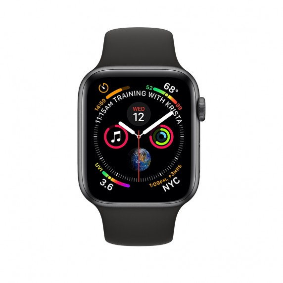 ... Silikonový řemínek SmoothBand pro Apple Watch Series 4 (44mm) ... cdfa1903896