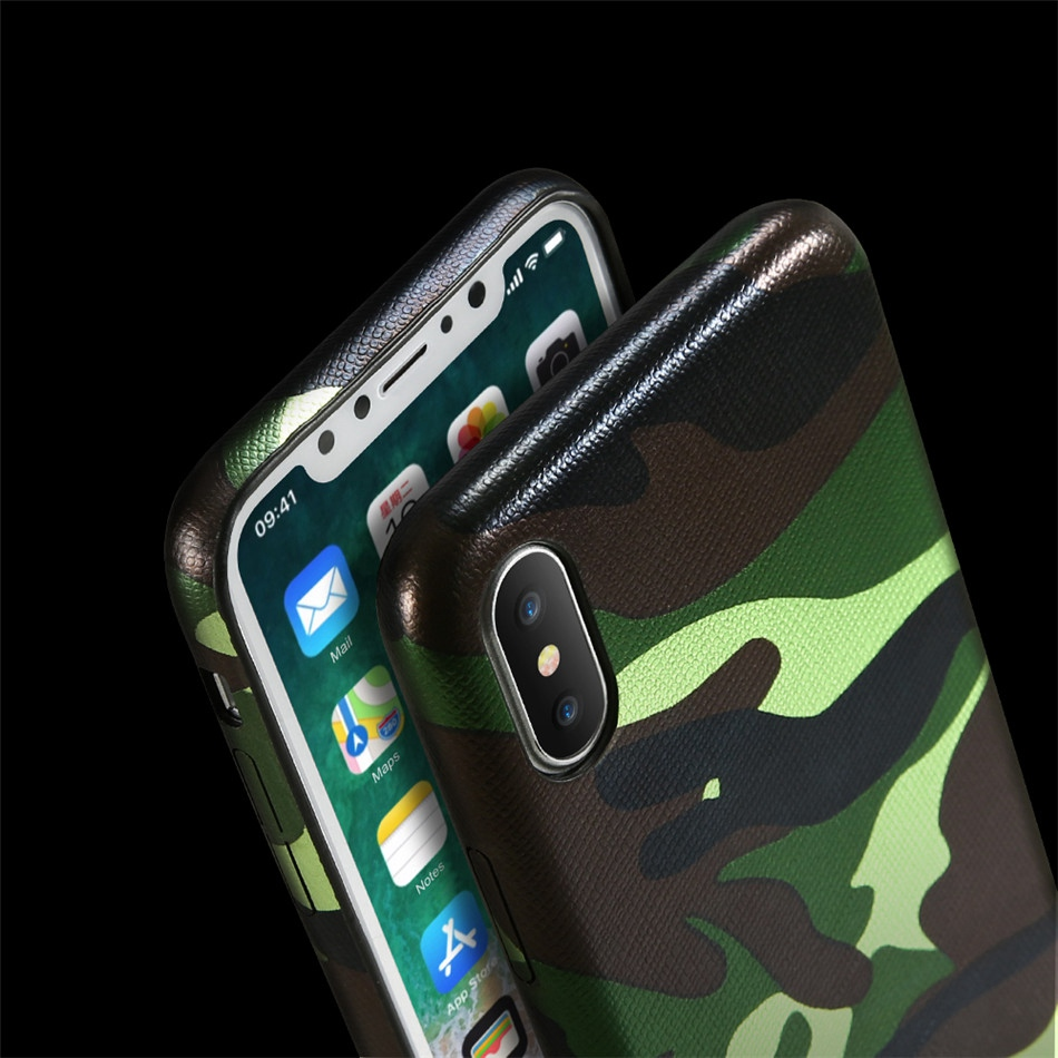 Kryt Army Camouflage pro iPhone Xs/X