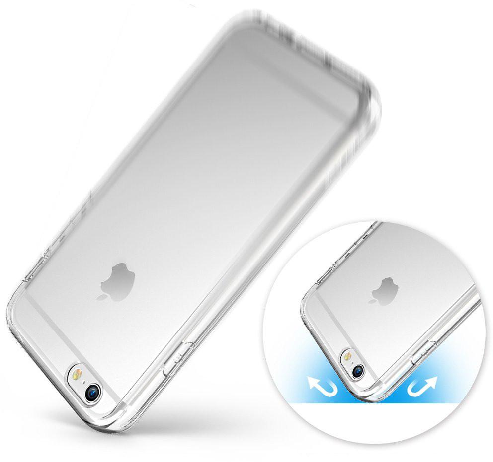 ... Průhledný čirý obal   kryt Ultra Slim Hybrid pro iPhone 6s   6 ... 5c1920e0cc9
