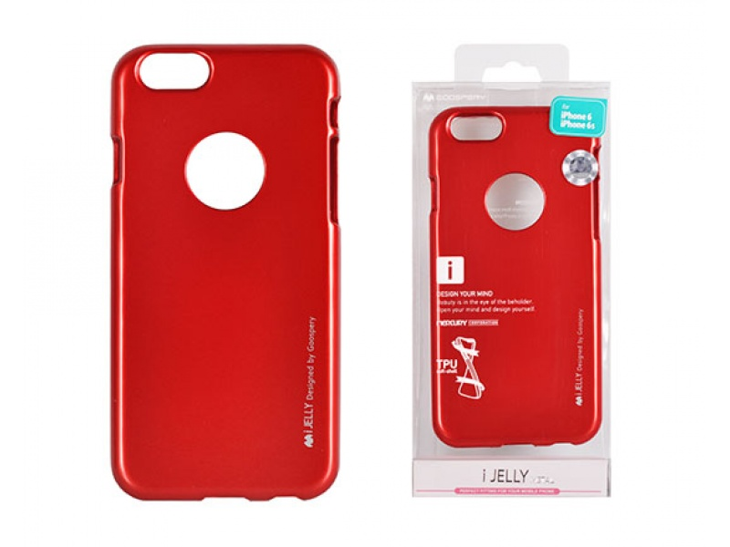 Silikonový obal / kryt Jelly Case Goospery Mercury Apple iPhone 6s/6