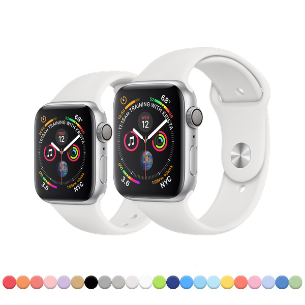 Silikonový řemínek SmoothBand pro Apple Watch Series 4 (44mm) ... 84264255f95