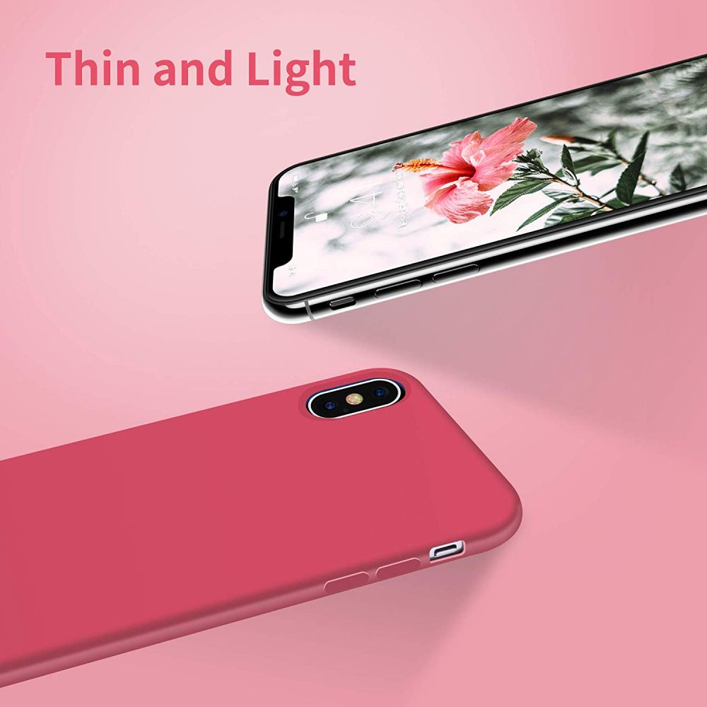 Silikonový kryt iMore Silicone Case na iPhone XS/X