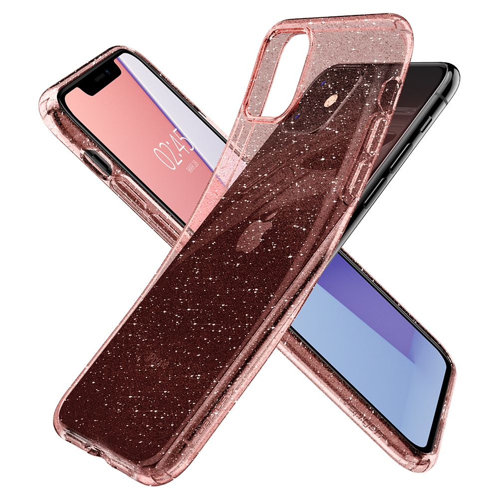 Obal Spigen Liquid Crystal Glitter na Apple iPhone 11