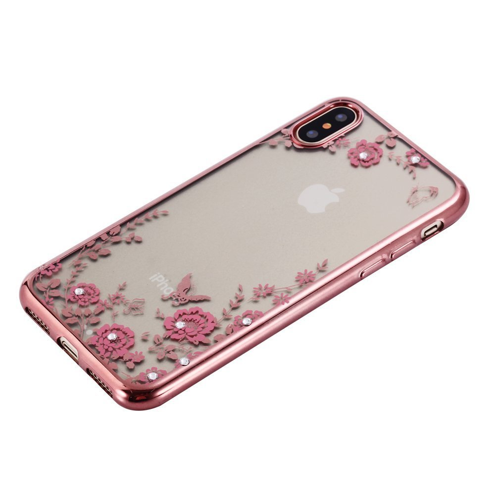 Obal / kryt Flower Garden pro Apple iPhone XS/X
