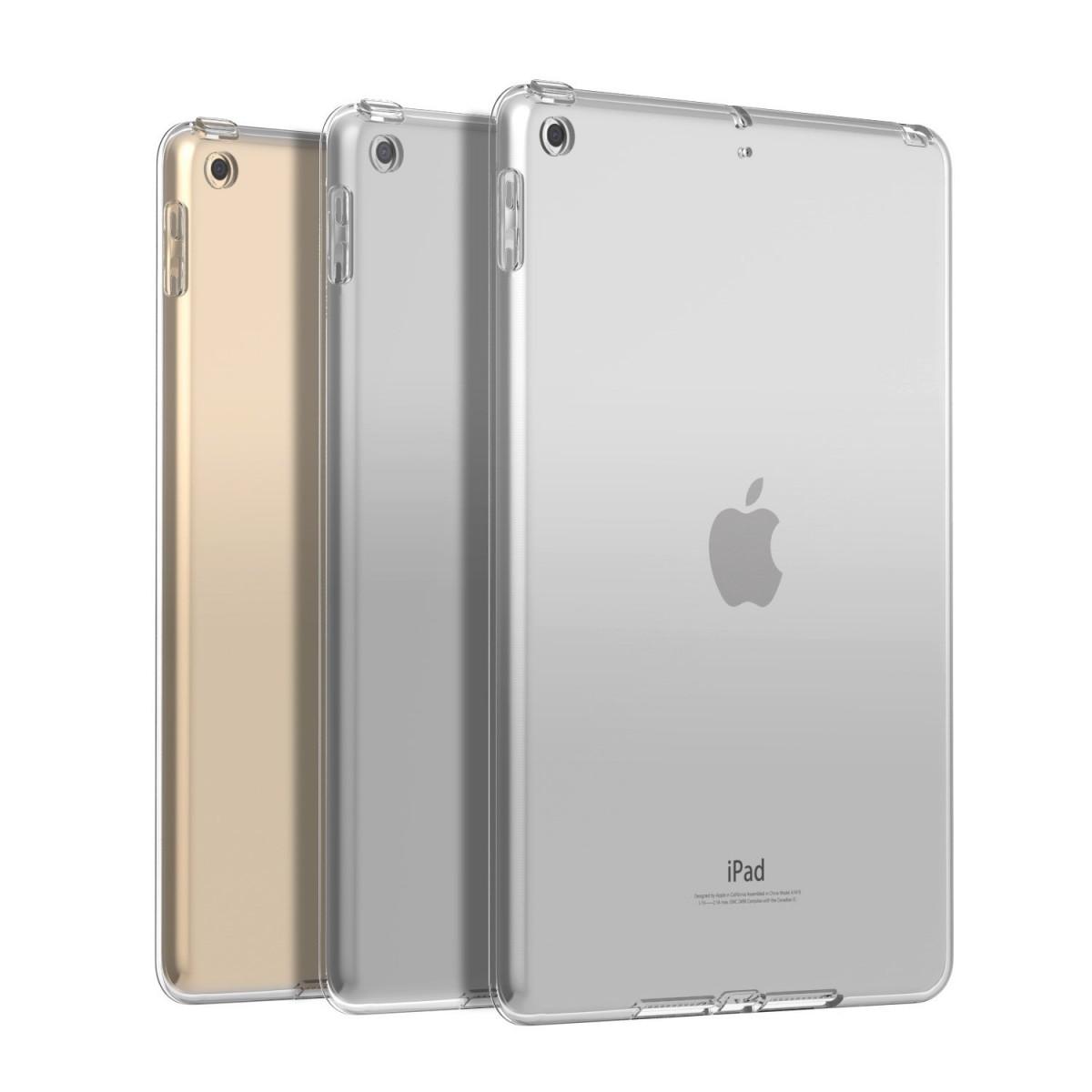 Silikonový průhledný čirý obal   kryt na Apple iPad 9.7 (2018 ... 9a282466f52