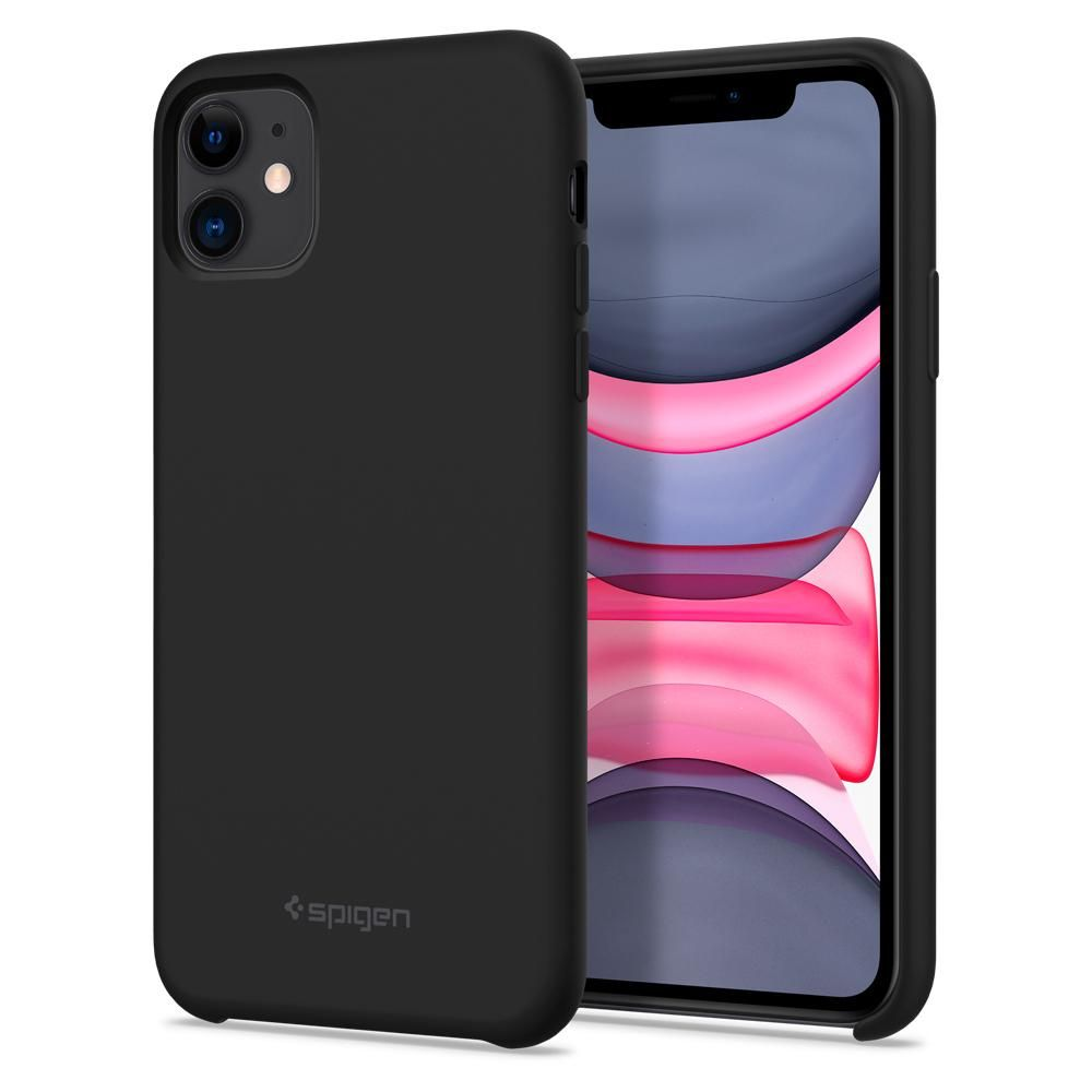 Kryt Spigen Silicone Fit na Apple iPhone 11