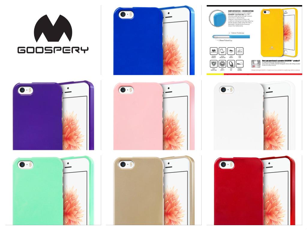 Silikonový obal   kryt Jelly Case Goospery Mercury Apple iPhone SE   5s   5 a612c50fff0