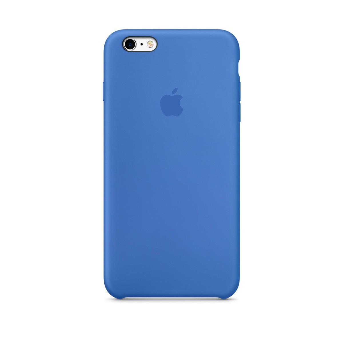 Silikonový kryt Apple Silicone Case iPhone 6s 6 Královský modrý (Royal Blue) dfe0852453a