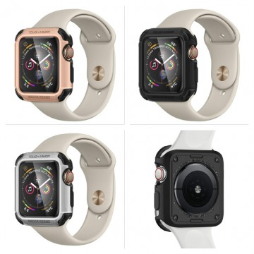 Odolný obal Spigen Tough Armor na Apple Watch Series 4/5/6/SE (44mm)