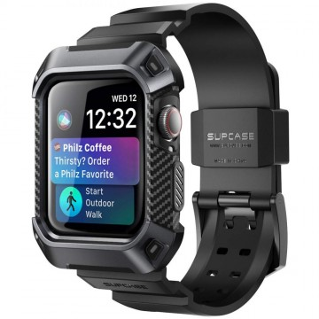 Odolný kryt s řemínkem SUPCASE Unicorn Beetle Pro na Apple Watch Series 4/5/6/SE (44mm)