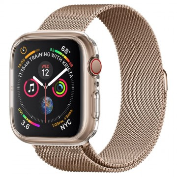 Pouzdro Spigen Liquid Crystal na Apple Watch Series 4/5/6/SE (44mm) čiré
