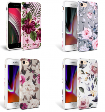 Obal Tech-Protect Floral na iPhone 7/8/SE (2020)