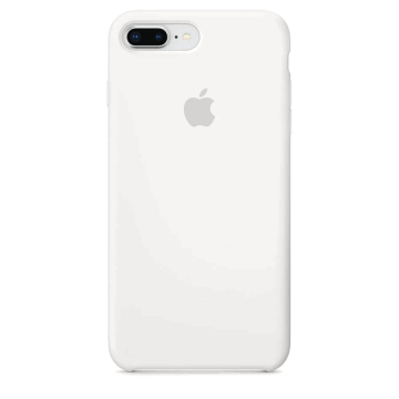 Silikonový kryt Apple Silicone Case iPhone 8 Plus / 7 Plus Bílý (White)