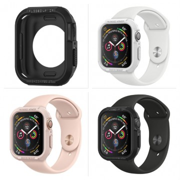 Kryt Spigen SPG Rugged Armor na Apple Watch Series 4/5/6/SE (44mm)
