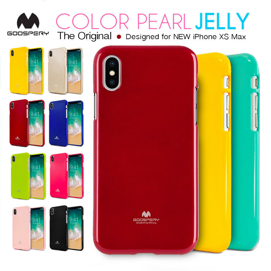 Obal / kryt / pouzdro Mercury Pearl Jelly Case pro Apple iPhone XS MAX