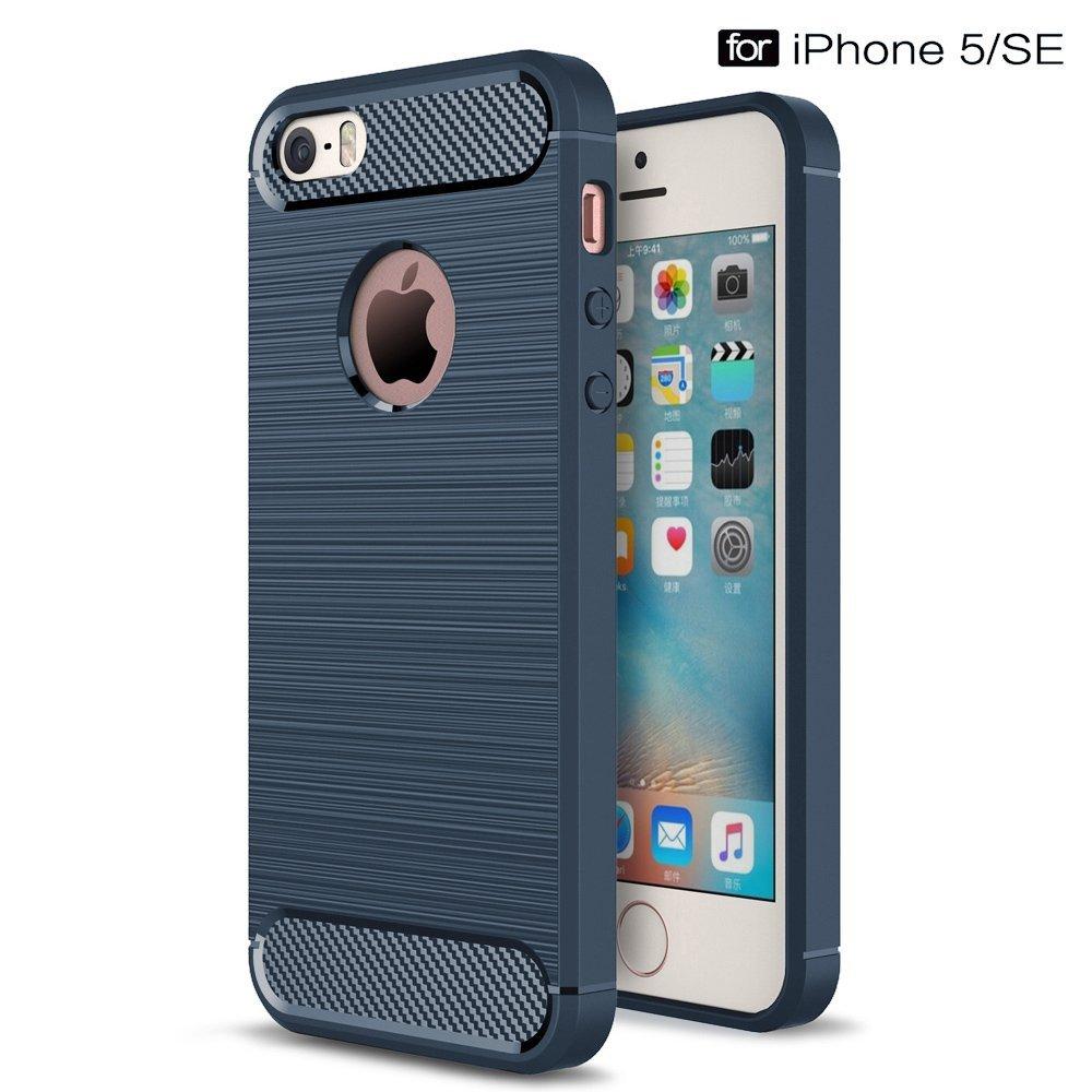 Stylový obal   kryt Carbon Armor pro iPhone SE   5s   5  75728e1dadd