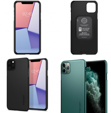 Tenký obal Spigen Thin Fit na Apple iPhone 11 Pro