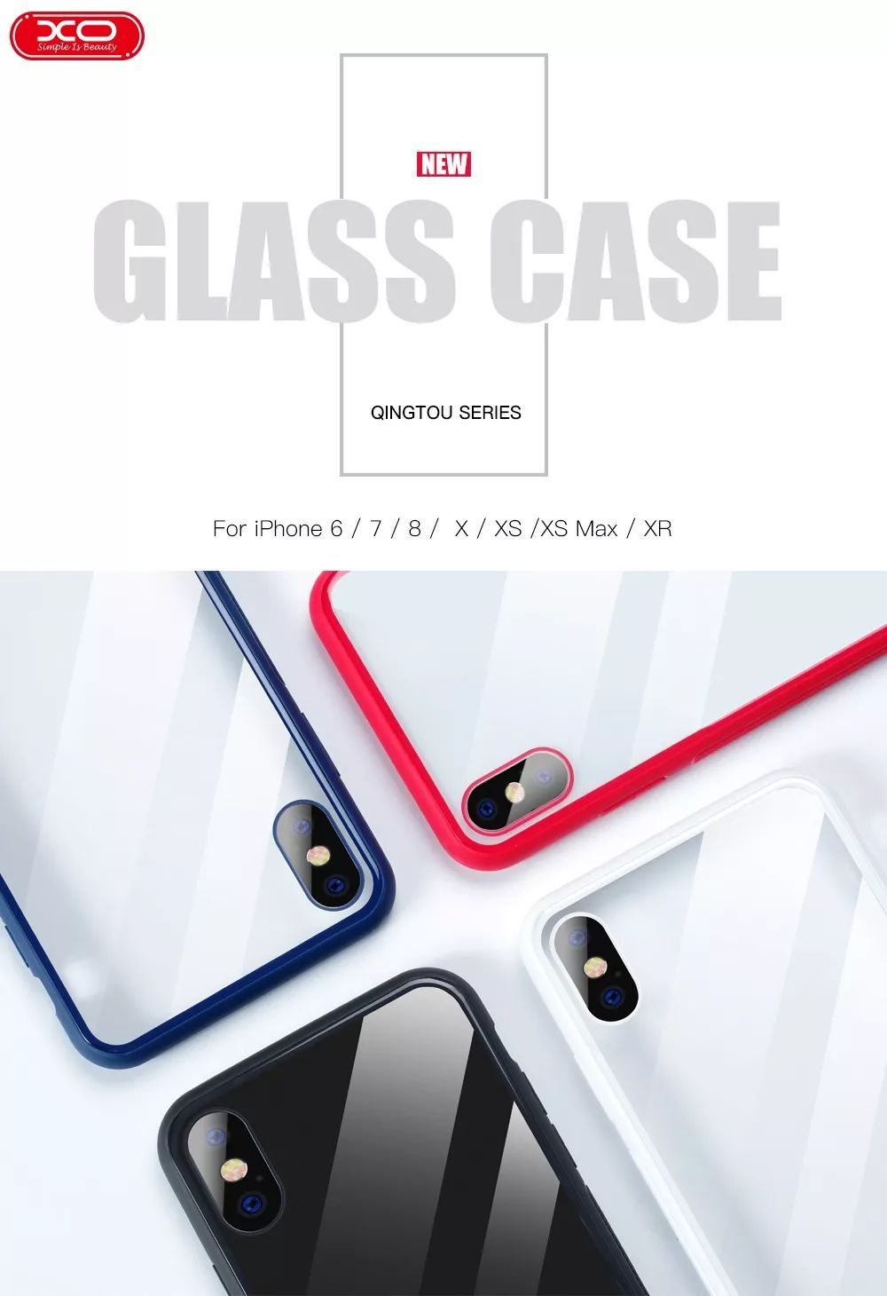 Pouzdro XO Glass Case na Apple iPhone 11