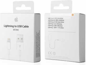 Apple USB kabel ME291ZM/A A1511 s konektorem Lightning (0,5 m)