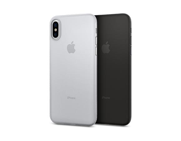 Ultra tenký kryt Spigen Air Skin pro Apple iPhone XS/X