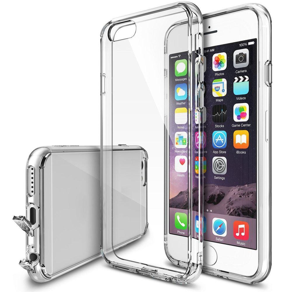 Průhledný čirý obal   kryt Ultra Slim Hybrid pro iPhone 6s   6 ... b12b26221c4