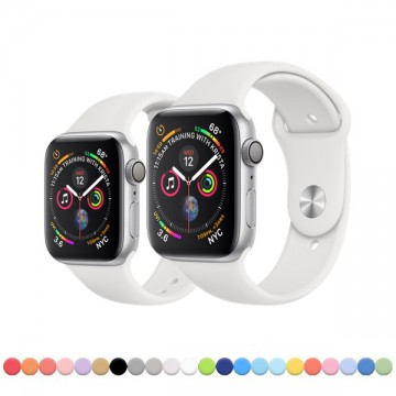 Silikonový řemínek SmoothBand pro Apple Watch Series 4/5/6/SE (44mm)