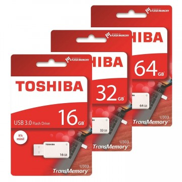 TOSHIBA U303 USB 3.0 Flash Disk (64GB/32GB/16GB)