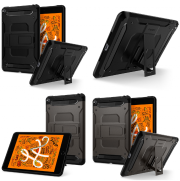 Odolný kryt Spigen Tough Armor Tech se stojánkem na Apple iPad mini (2019)
