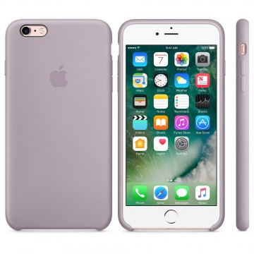 Silikonový kryt Apple Silicone Case iPhone 6s 6 Levandulový (Lavender) 5a6a41ee26e